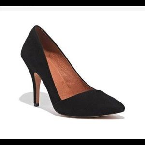 Madewell suede pumps
